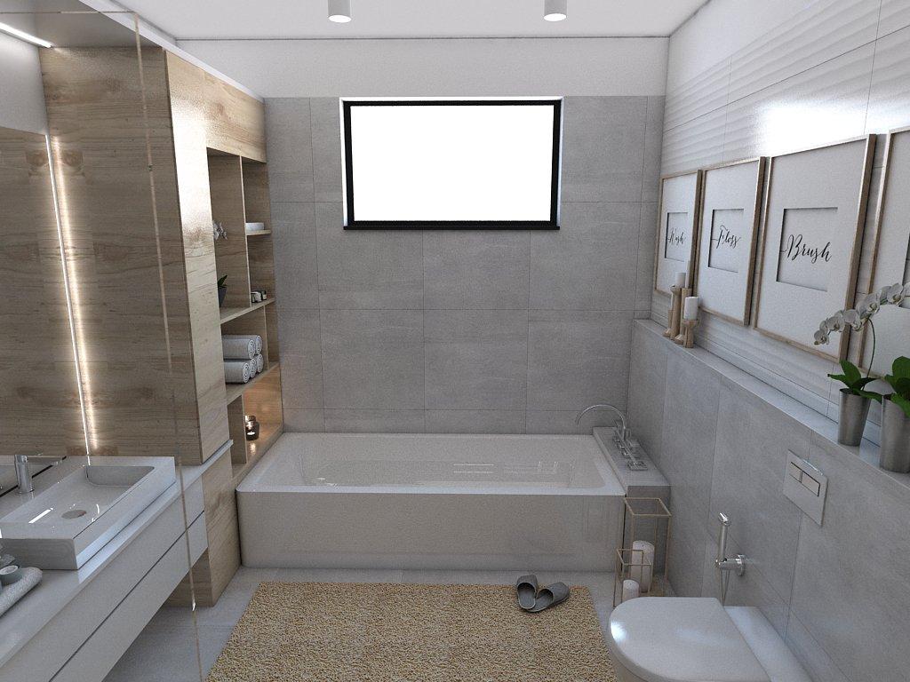 Kúpeľne- vizualizácie - Obrázok č. 105