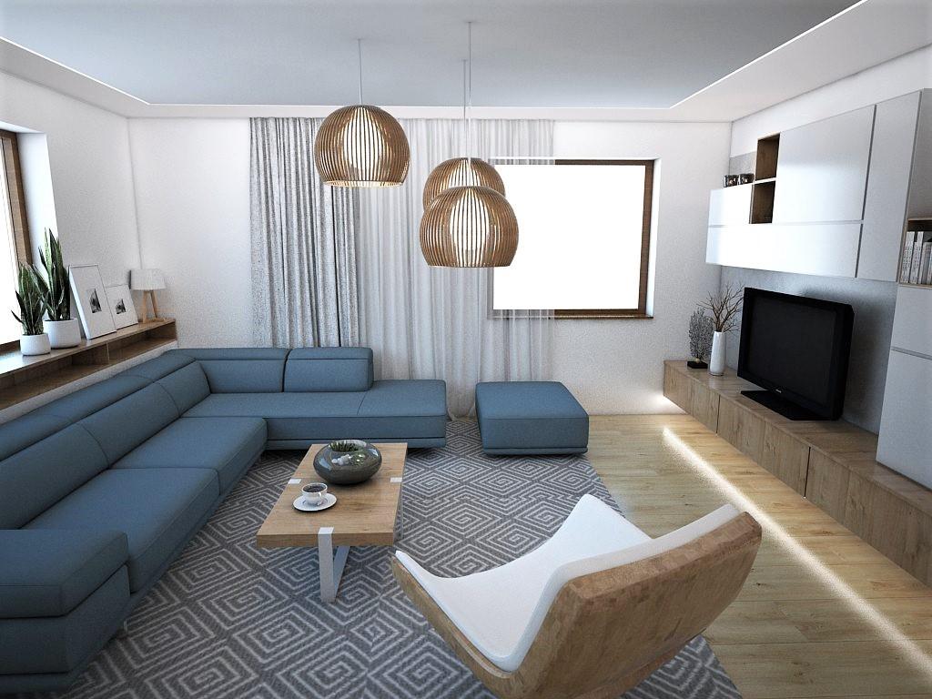Obývačky- vizualizácie - Obrázok č. 2
