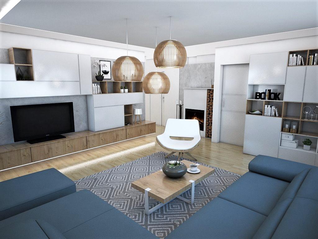 Obývačky- vizualizácie - Obrázok č. 4