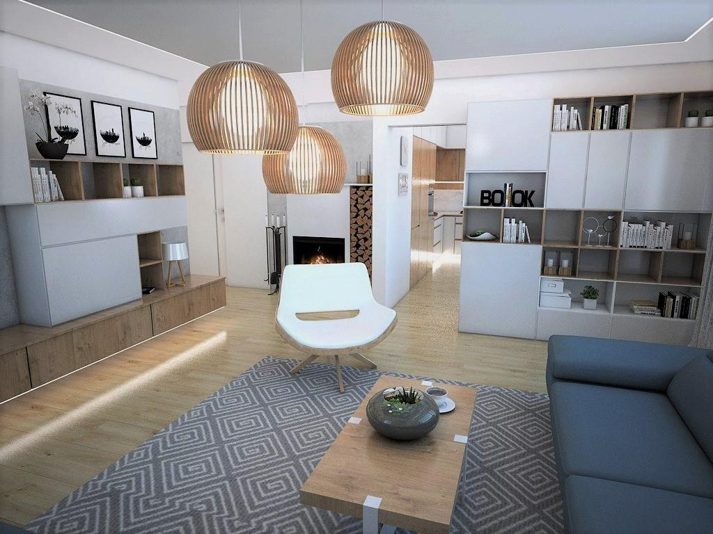Obývačky- vizualizácie - Obrázok č. 5