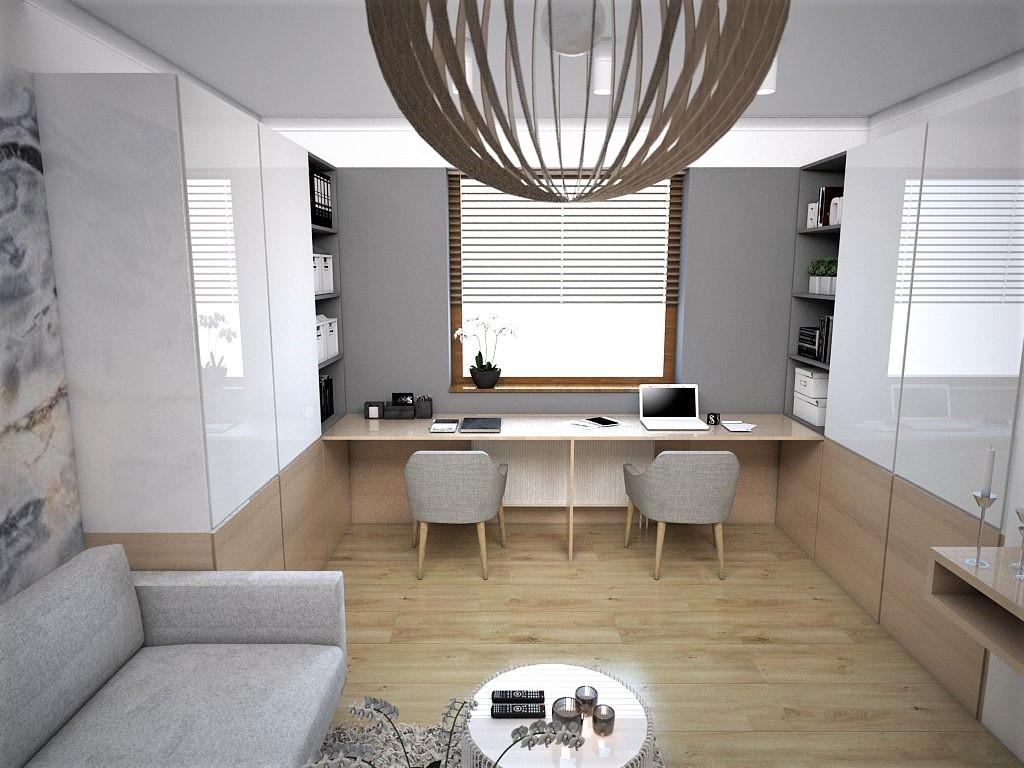 Pracovne a hosťovské izby- vizualizácie - Obrázok č. 29