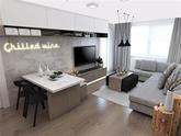 Druhá verzia obývačky