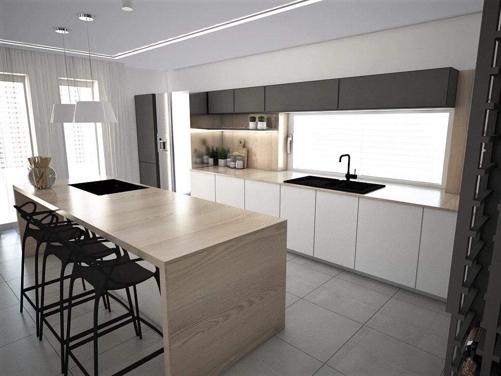 Kuchyňo- obývačky, vizualizácie - Obrázok č. 233