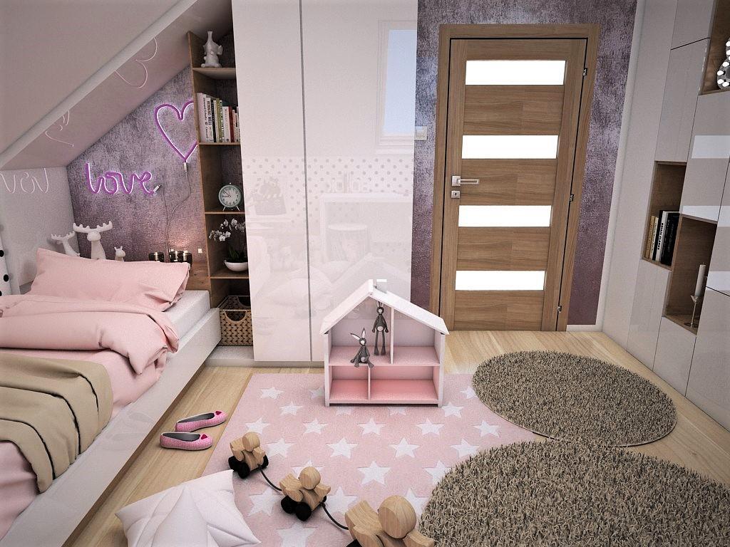 Detské a študentské izby- vizualizácie - Obrázok č. 265