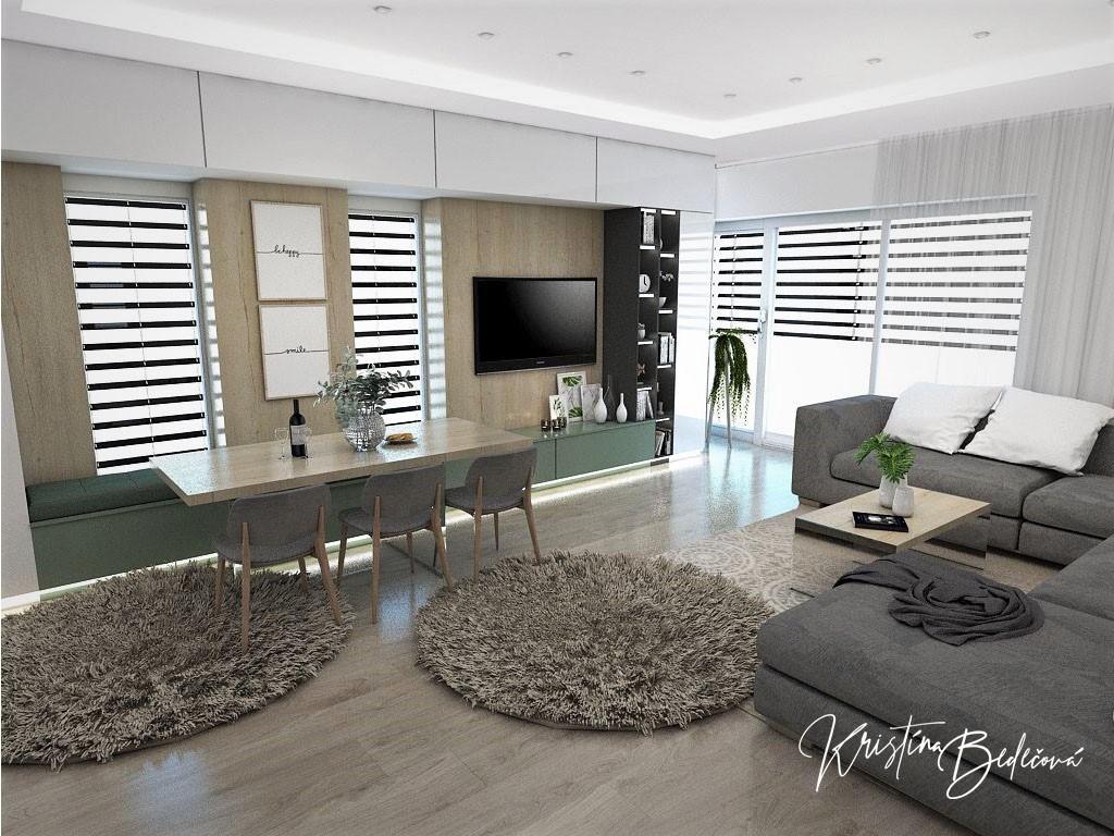 Kuchyňo- obývačky, vizualizácie - Obrázok č. 299