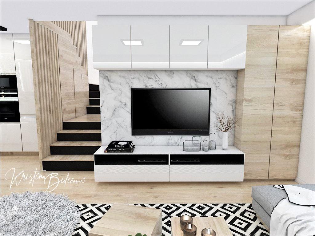 Kuchyňo- obývačky, vizualizácie - Obrázok č. 341