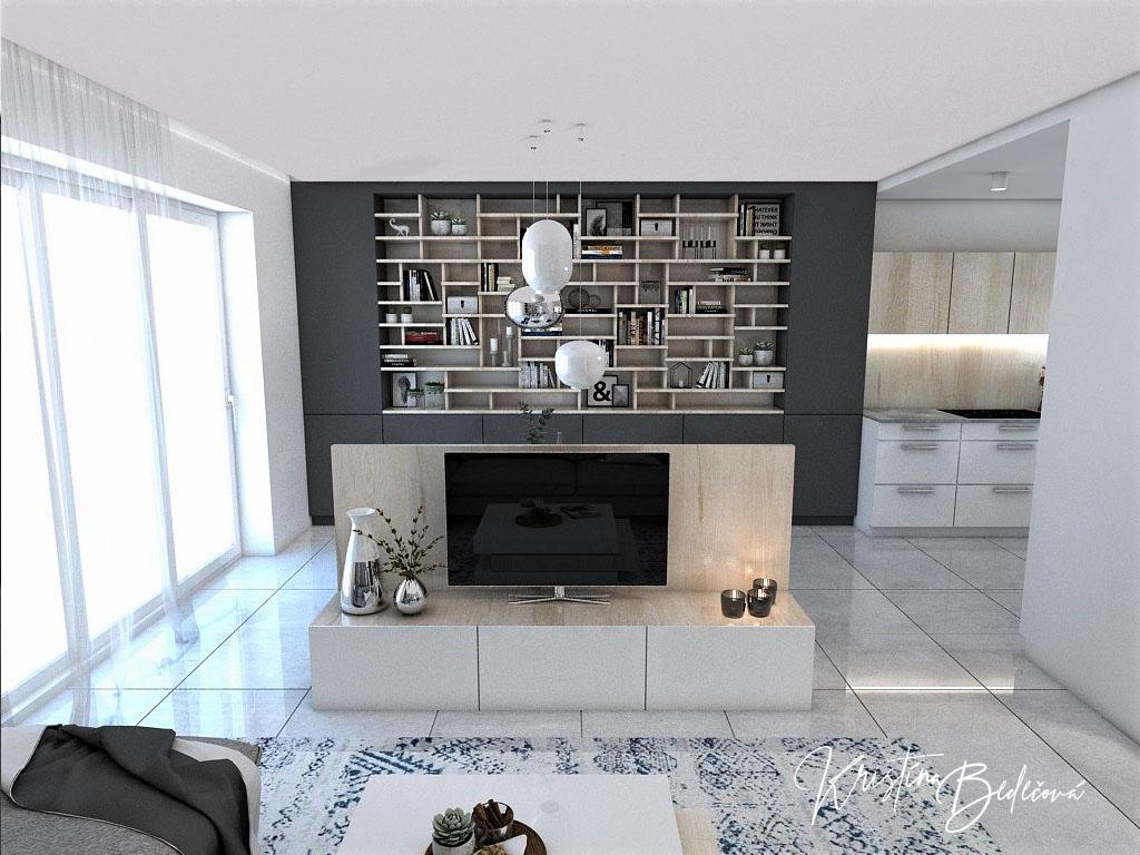 Kuchyňo- obývačky, vizualizácie - Obrázok č. 352