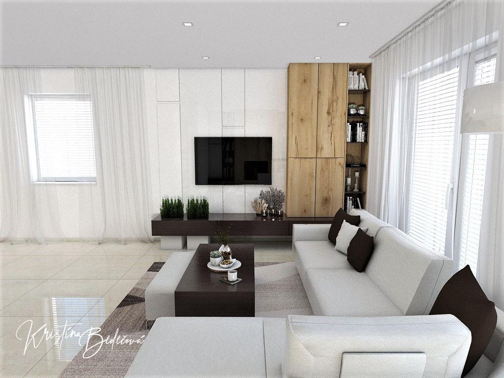 Obývačky- vizualizácie - Obrázok č. 72