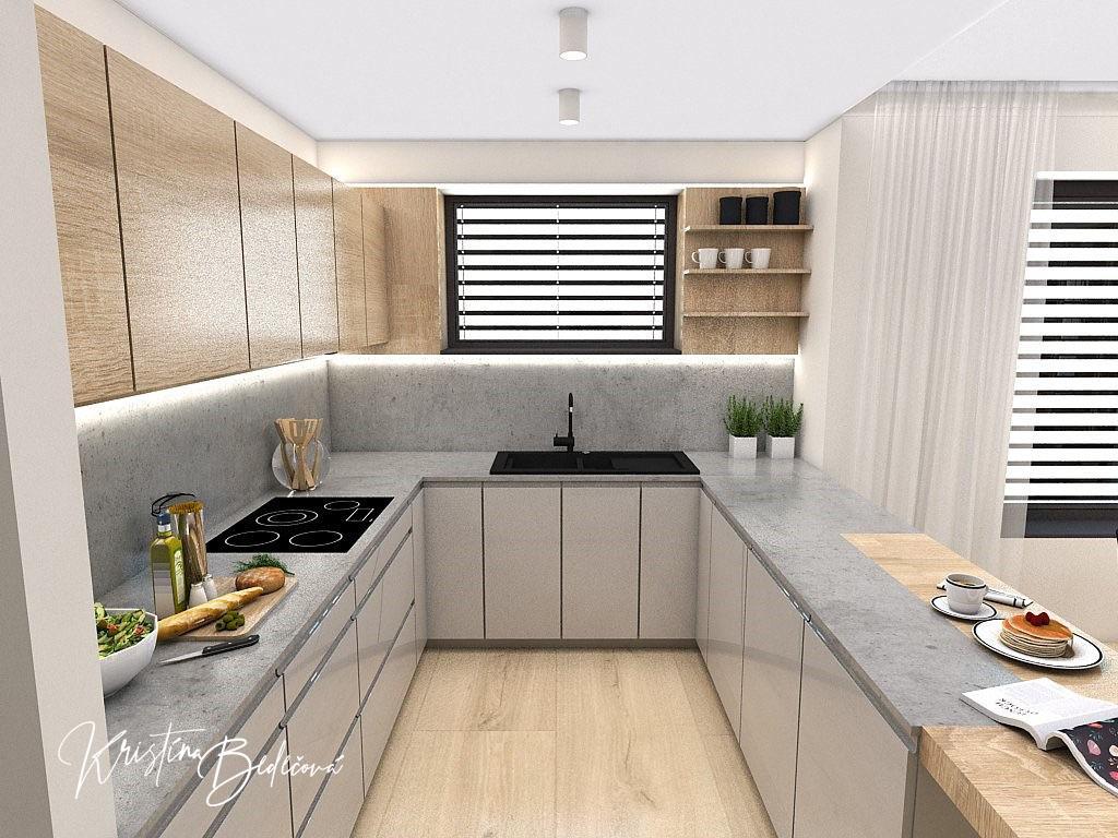 Kuchyňo- obývačky, vizualizácie - Obrázok č. 364