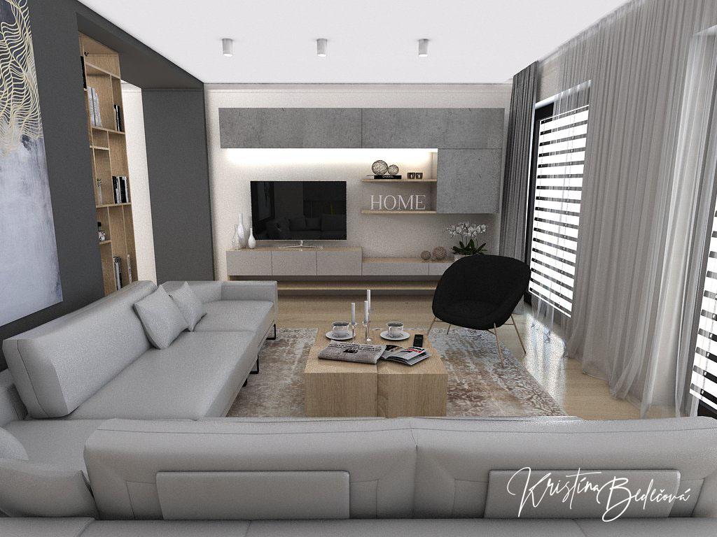 Kuchyňo- obývačky, vizualizácie - Obrázok č. 374