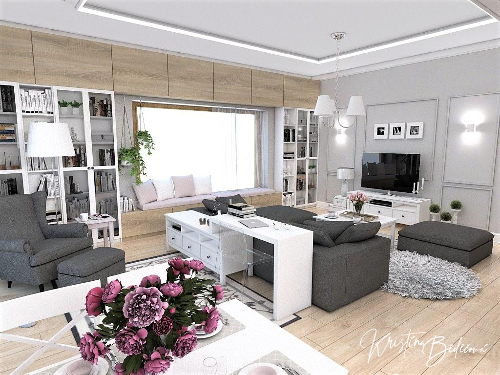 Obývačky- vizualizácie - Obrázok č. 84