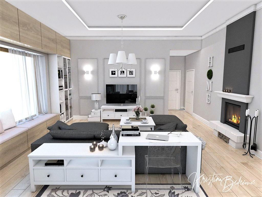 Obývačky- vizualizácie - Obrázok č. 85