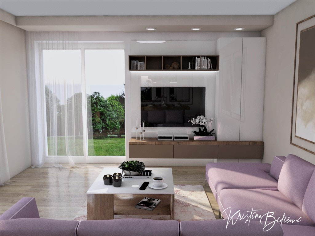 Kuchyňo- obývačky, vizualizácie - Obrázok č. 425