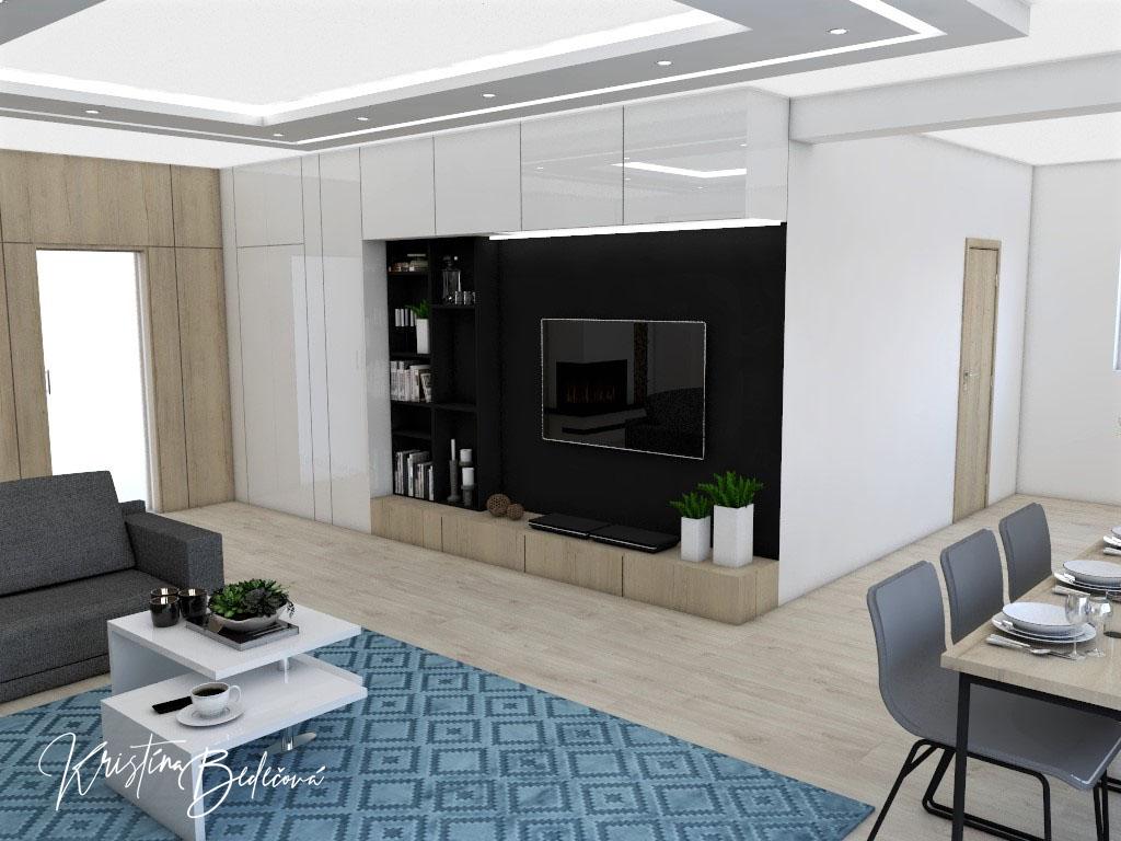 Obývačky- vizualizácie - Obrázok č. 101