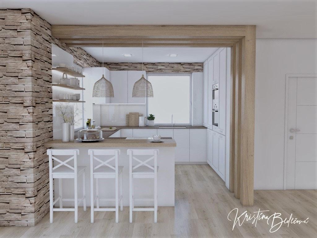 Kuchyne- vizualizácie - Obrázok č. 1