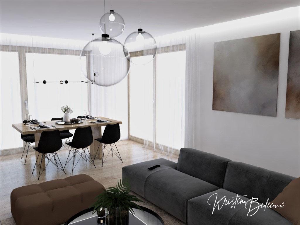 Kuchyňo- obývačky, vizualizácie - Obrázok č. 532