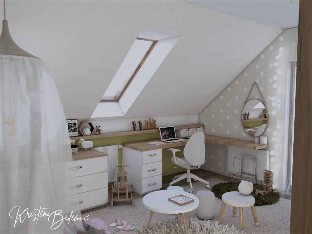 Detské a študentské izby- vizualizácie - Obrázok č. 356