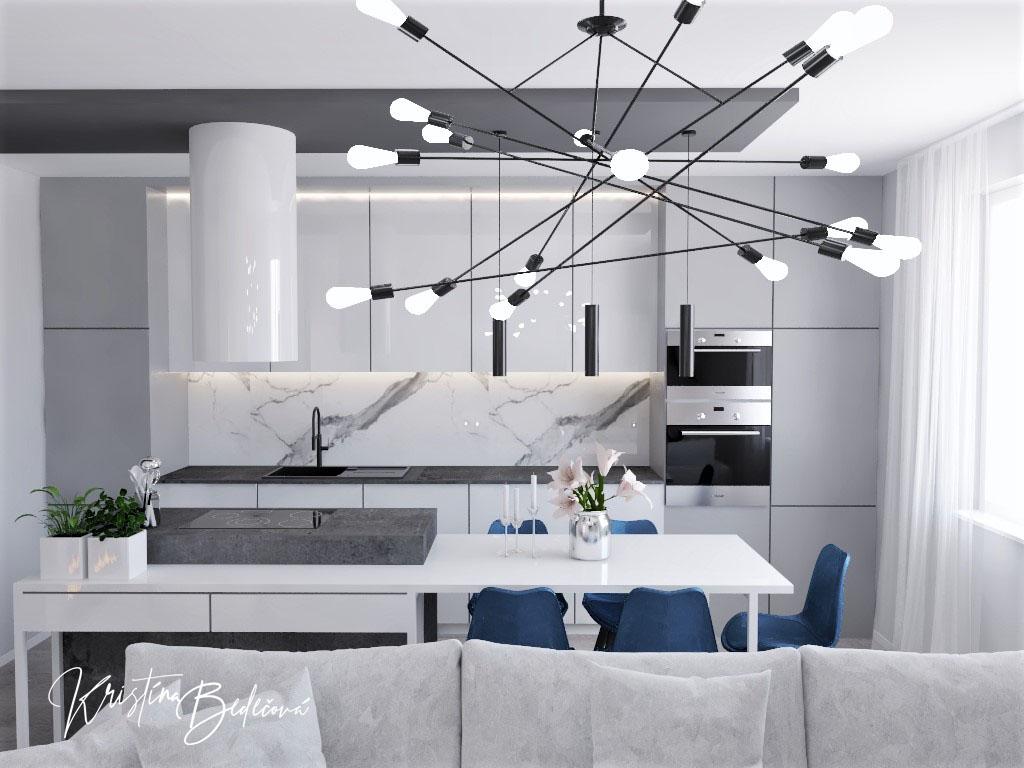 Kuchyňo- obývačky, vizualizácie - Obrázok č. 615
