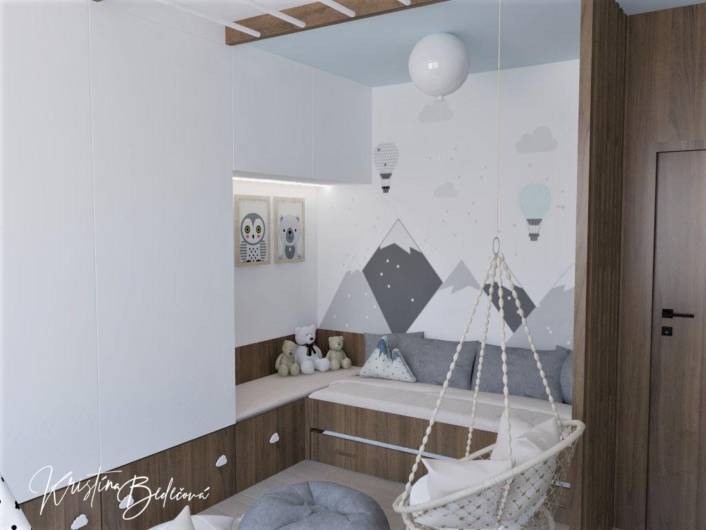 Detské a študentské izby- vizualizácie - Obrázok č. 378