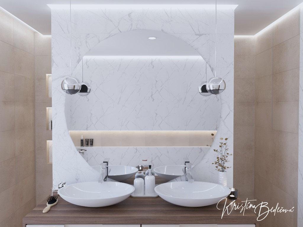 Kúpeľne- vizualizácie - Obrázok č. 220