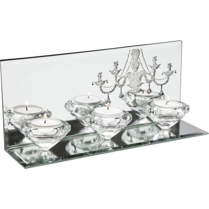 Svietnik na tri čajové sviečky