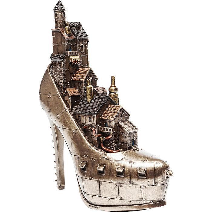 Dekorácia Steampunk topánka