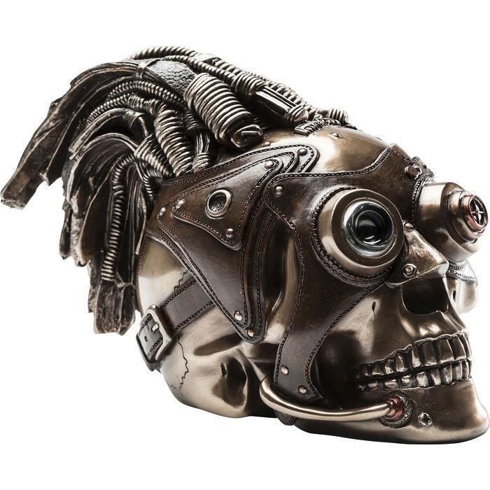 Dekorácia Steampunk lebka