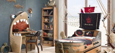 Detská izba Black Pirat nášho malého :-)