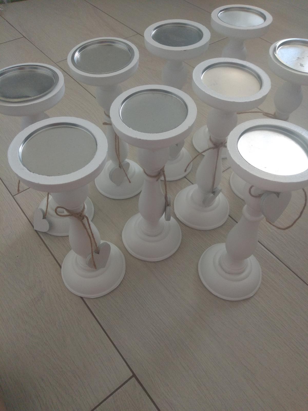 Biele svietniky - Obrázok č. 3