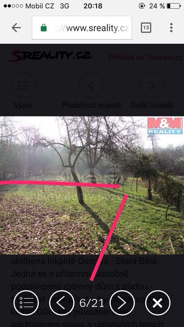 Náš boj - Naša záhrada s profesionálne vyznačeným projektom, pokiaľ je naša :D na zadnom pozemku bude stáť ďalší dom