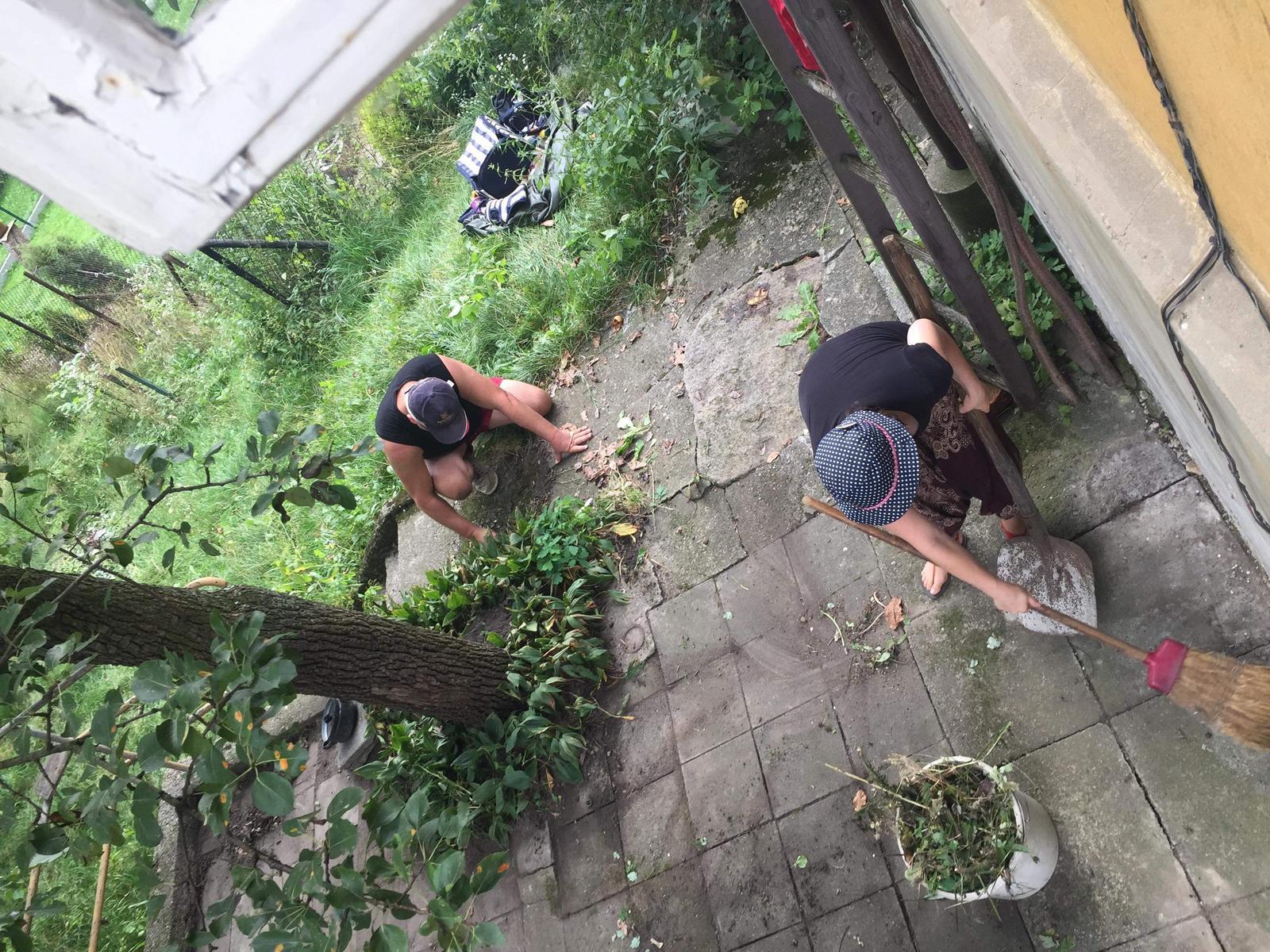 Náš boj - Prvá brigáda na terase :)