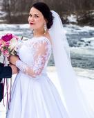 Svatební šaty 44-46, zn. Mary Bride, 44