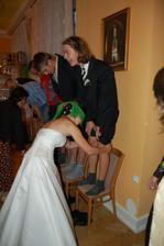 Zkouška nevěsty, prošla (je fakt, že jsem to měla lehčí) :-)