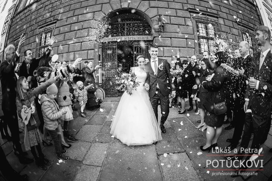 Zimní svatba Šárky a Martina - Obrázek č. 28
