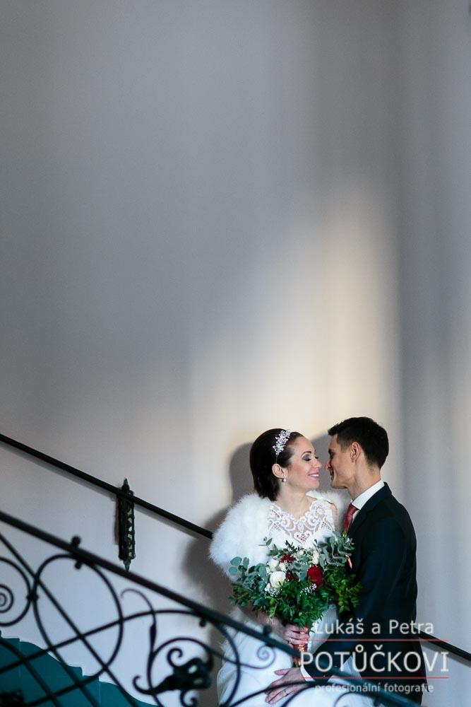 Zimní svatba Šárky a Martina - Obrázek č. 33