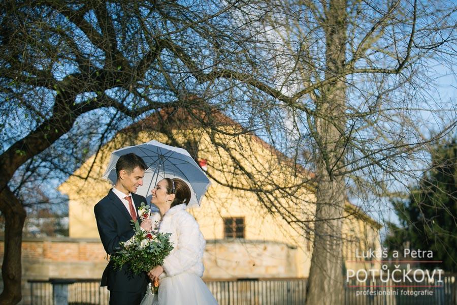 Zimní svatba Šárky a Martina - Obrázek č. 38