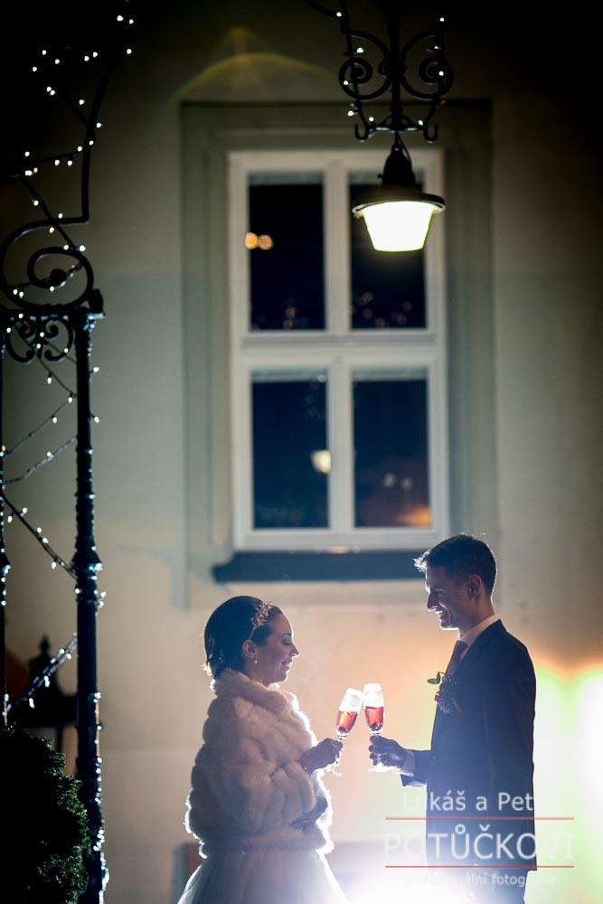 Zimní svatba Šárky a Martina - Obrázek č. 44