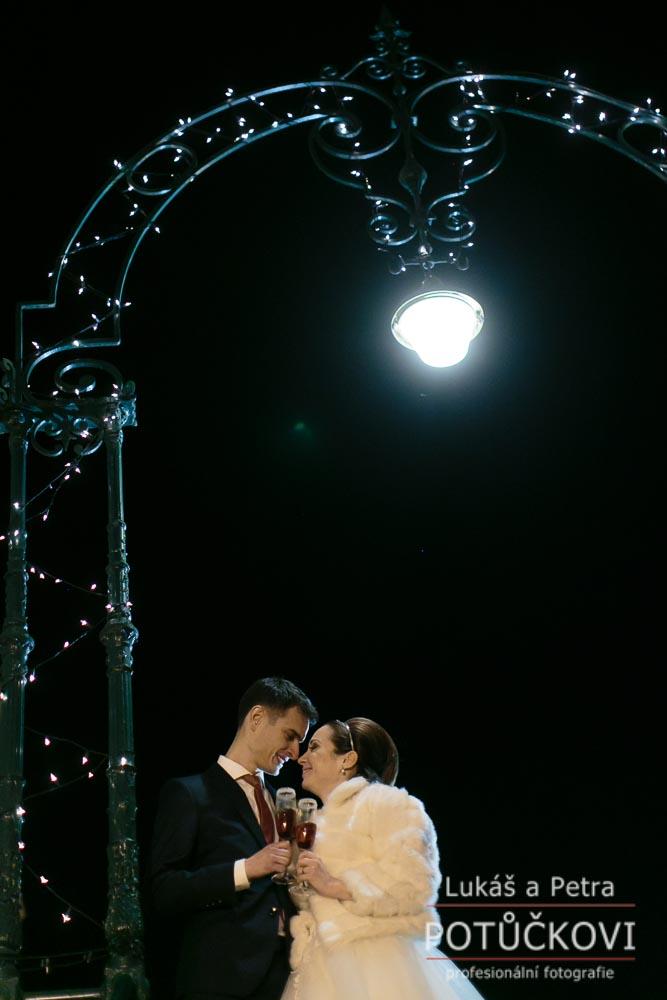 Zimní svatba Šárky a Martina - Obrázek č. 45