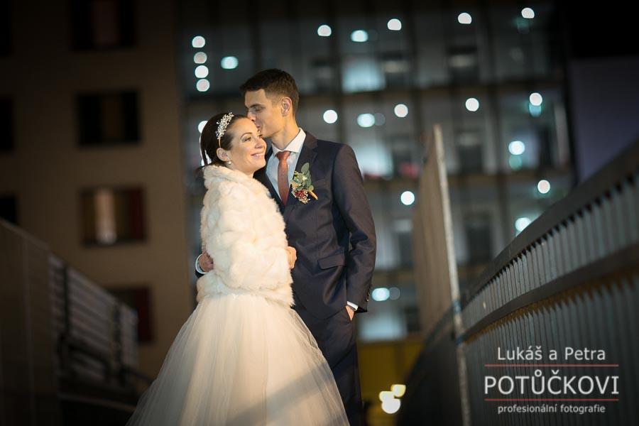 Zimní svatba Šárky a Martina - Obrázek č. 47