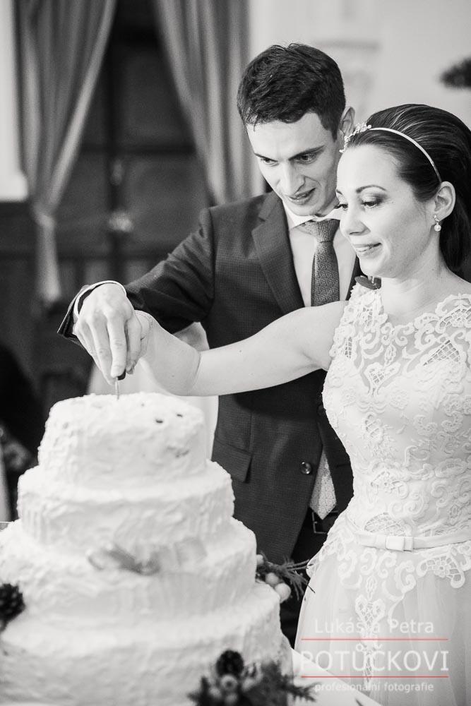 Zimní svatba Šárky a Martina - Obrázek č. 54
