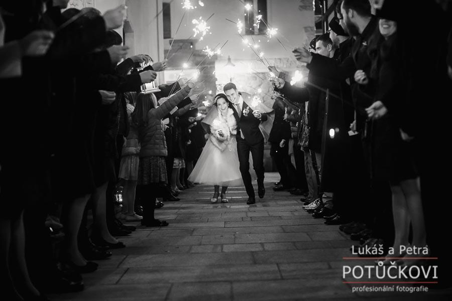 Zimní svatba Šárky a Martina - Obrázek č. 61