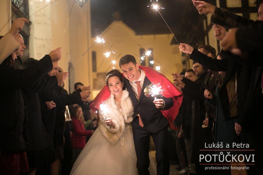 Zimní svatba Šárky a Martina - Obrázek č. 62