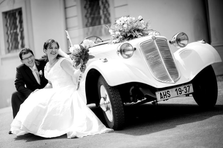 Svatební veteráni - Tatra 57 a Sport - Obrázek č. 16