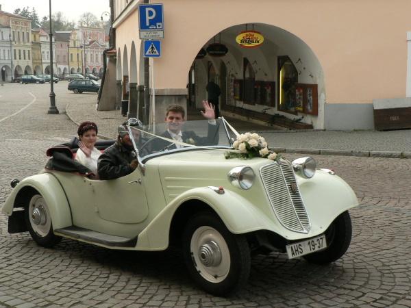 Svatební veteráni - Tatra 57 a Sport - Obrázek č. 10