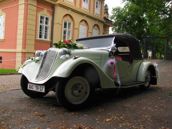 Svatební veteráni - Tatra 57 a Sport - Obrázek č. 12