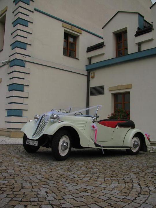 Svatební veteráni - Tatra 57 a Sport - Obrázek č. 13