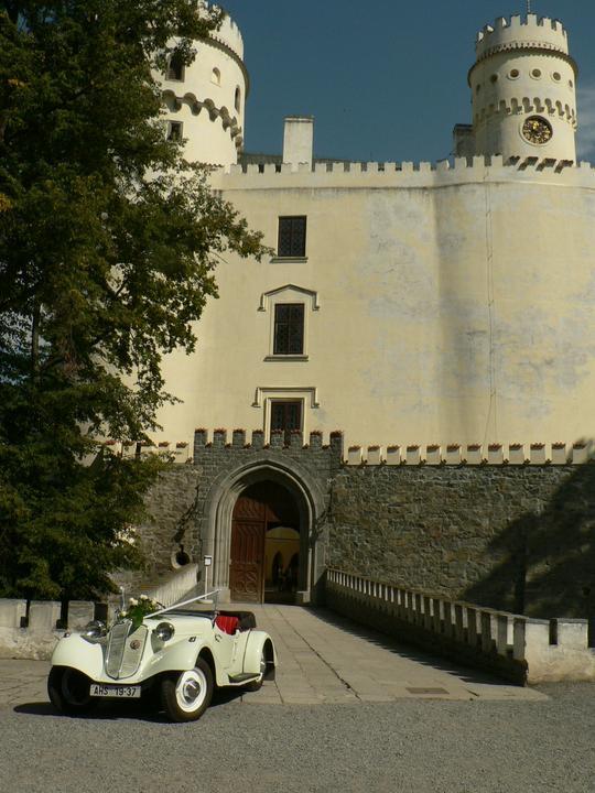 Svatební veteráni - Tatra 57 a Sport - Obrázek č. 25