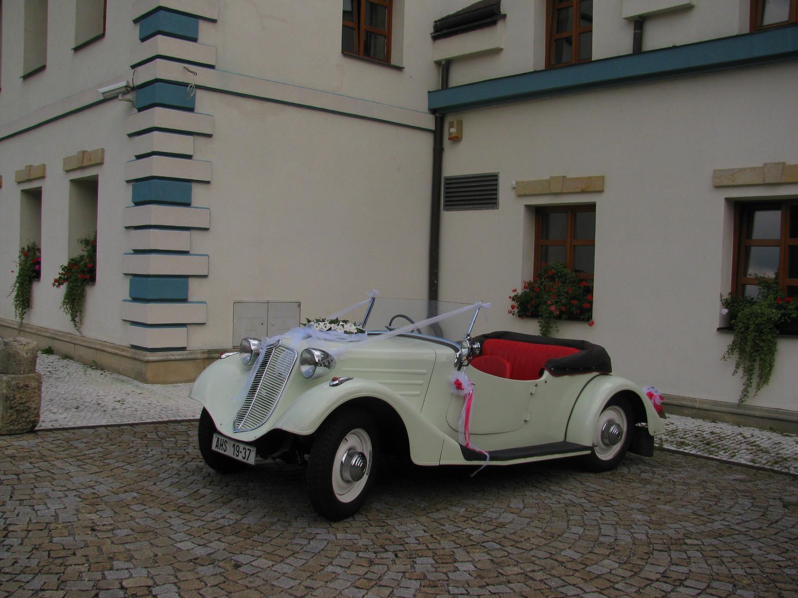 Svatební veteráni - Tatra 57 a Sport - Obrázek č. 167