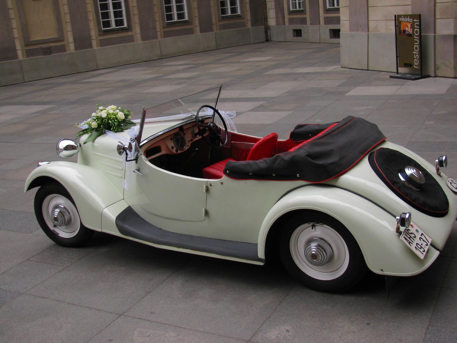 Svatební veteráni - Tatra 57 a Sport - Obrázek č. 197