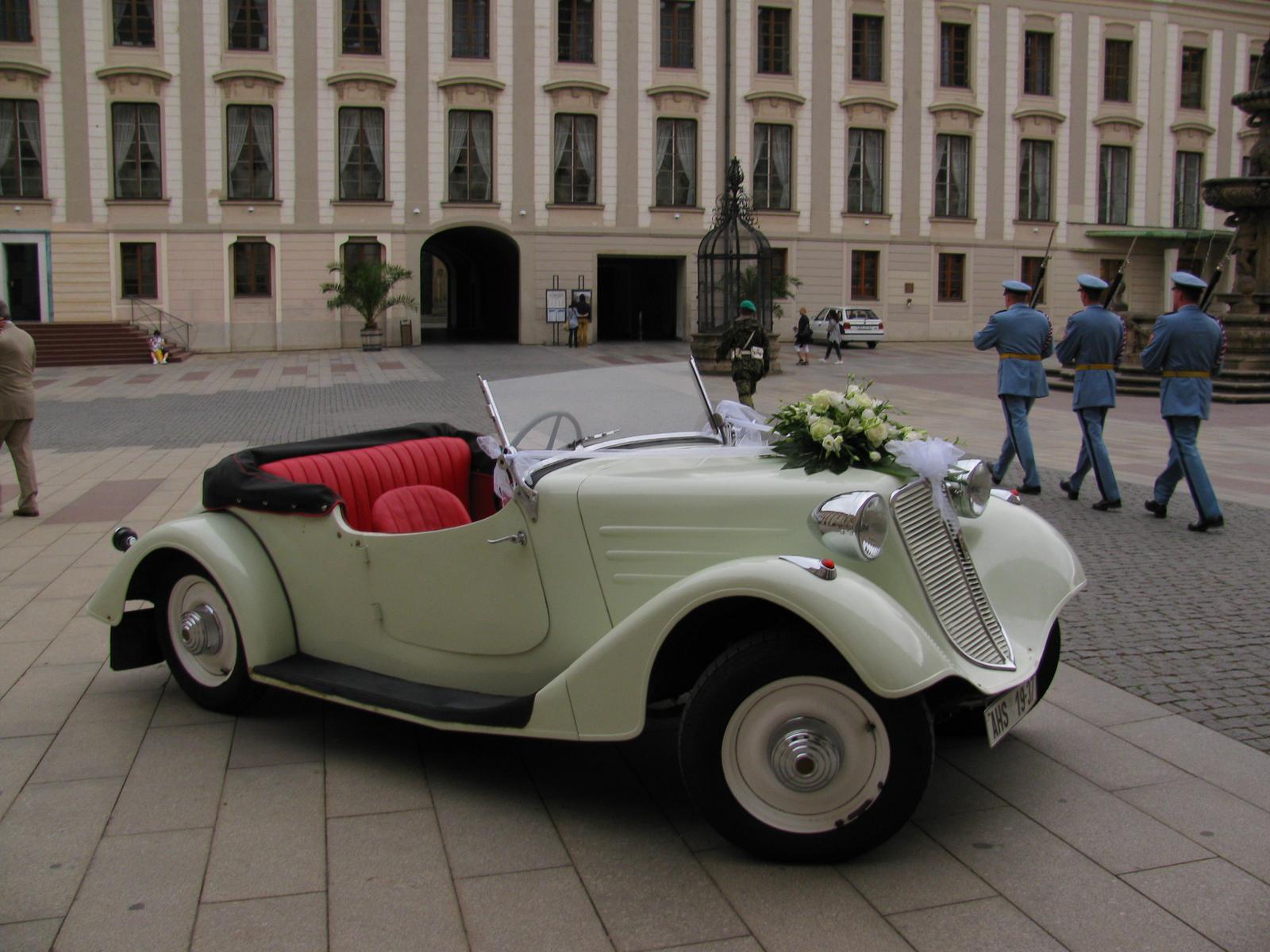 Svatební veteráni - Tatra 57 a Sport - Obrázek č. 199